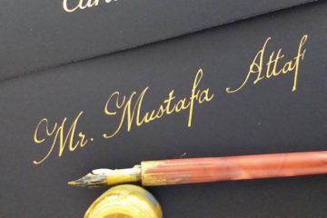 English Calligrapher Artist
