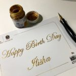 Modern English Calligraphy Art In Dubai UAE